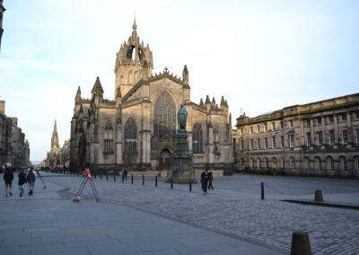 Royal Mile con la Cathedral of St-Giles - Diario di viaggio in Scozia