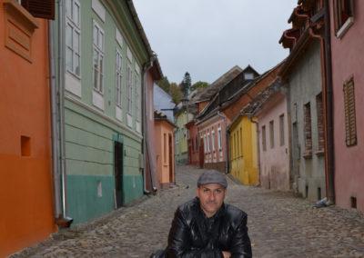 Strada Tamplarilor, Sighisoara - Diario di viaggio in Transilvania - Romania