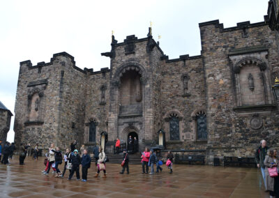 -Edinburgh Castle, Crown Square Diario di viaggio in Scozia.