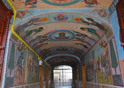 Dipinti ad Andrei Saguna, Sibiu - Diario di viaggio in Transilvania - Romania