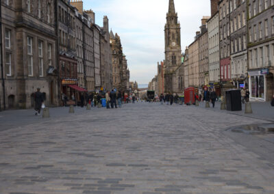 Royal Mile, Edimburgo - Diario di viaggio in Scozia