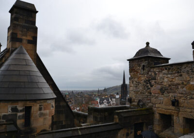 Edinburgh Castle, Argyle Tower Diario di viaggio in Scozia.