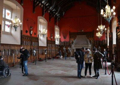 Edinburgh Castle, Great Hall Diario di viaggio in Scozia.
