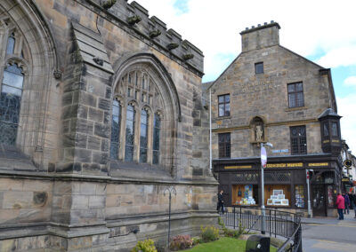 Church Street, St Andrews - Diario di viaggio in Scozia