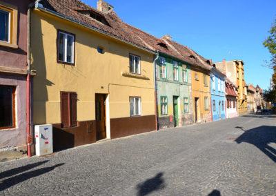 Strada Cetatii, Sibiu - Diario di viaggio in Transilvania - Romania