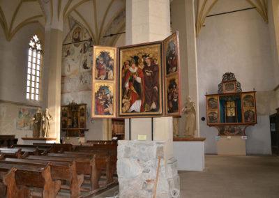 Chiesa sulla Collina -Biserica din Deal St Nicolae - Diario di viaggio in Transilvania - Romania