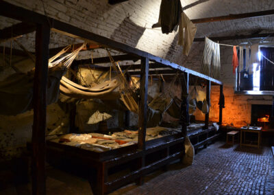 Edinburgh Castle, Vaults - Diario di viaggio in Scozia