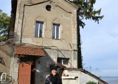 Torre di Corda -Turnul Franghierilor- e casa, Sighisoara - Diario di viaggio in Transilvania - Romania.