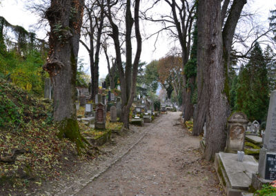 Cimitero Sassone, Sighisoara - Diario di viaggio in Transilvania - Romania.
