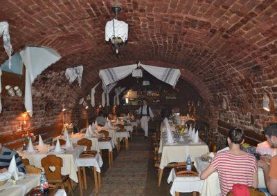 Ristorante Crama Sibiul Vechi, Sibiu - Diario di viaggio in Transilvania - Romania