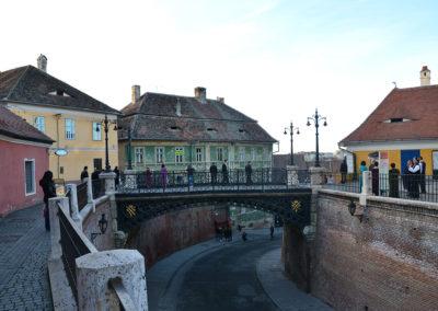 Piata Mica e Ponte delle Bugie, Sibiu - Diario di viaggio in Transilvania - Romania