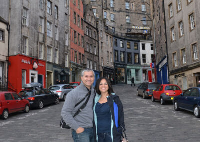 West Bow, Edimburgo - Diario di viaaggio in Scozia