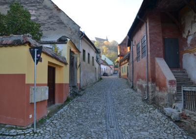 Strada Zitul Cetatii, Sighisoara - Diario di viaggio in Transilvania - Romania.