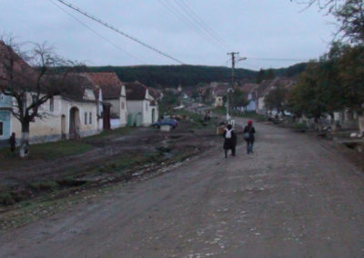 Strade di Viscri - Diario di viaggio in Transilvania - Romania.