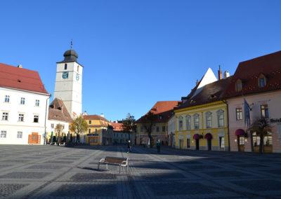Piata Mare, Sibiu - Diario di viaggio in Transilvania - Romania