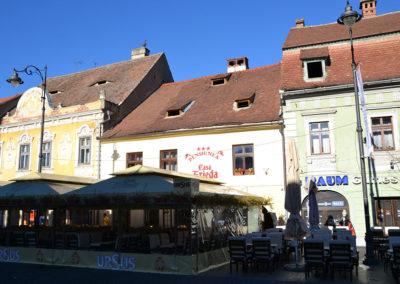 trada N. Balcescu, Casa Frieda, Sibiu - Diario di viaggio in Transilvania - Romania