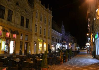 Strada Repiblicii, Brasov - Diario di viaggio in Transilvania - Romania