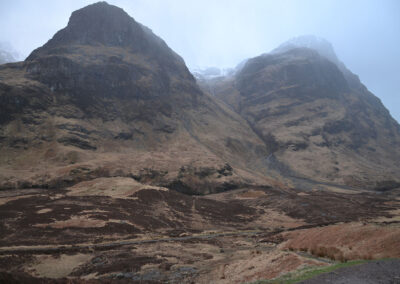 Bidean Nam Bian, Glencoe, - The Three Sisters - Diario di viaggio in Scozia