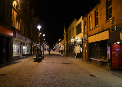 High Street, Fort William - Diario di viaggio in Scozia