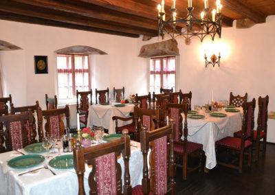 Ristorante Birreria nella Casa natale del Principe di Valacchia Vlad Tepes Dracul, Sighisoara - Diario di viaggio in Transilvania - Romania