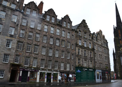 Lawnmarket e The Hub, Edimburgo Diario di viaggio in Scozia.
