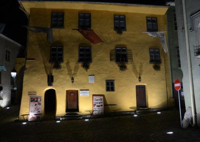Casa natale del Principe di Valacchia Vlad Tepes Dracul, Sighisoara - Diario di viaggio in Transilvania - Romania