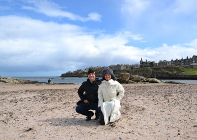 West Sands Beach, St-Andrews - Diario di viaggio in Scozia