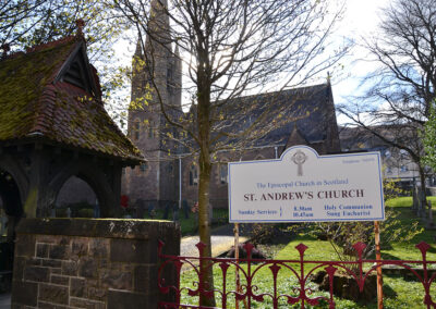 St Andrews Church, Fort William - Diario di viaggio in Scozia